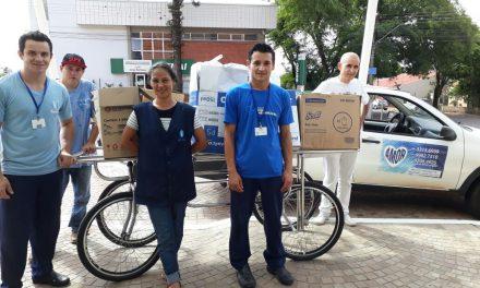 Memorial Vera Cruz faz doação de roupas à ONG Amor